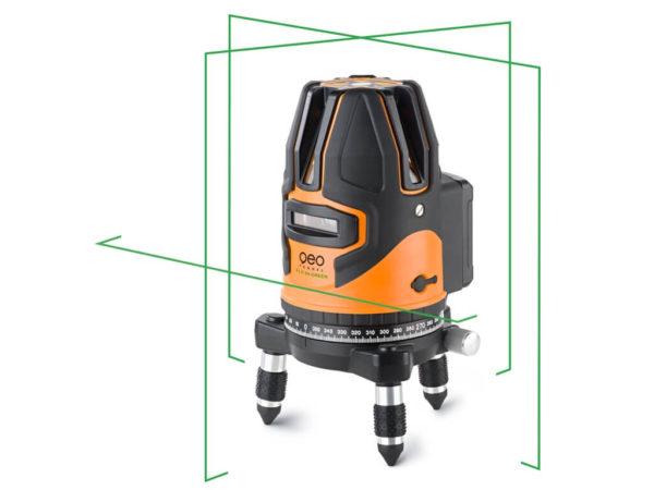 Máy cân bằng laser 5 tia xanh FLG 64 Green HP | Geo-Fennel