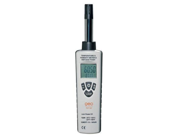 Máy đo nhiệt độ độ ẩm FHT 100 | Geo-Fennel