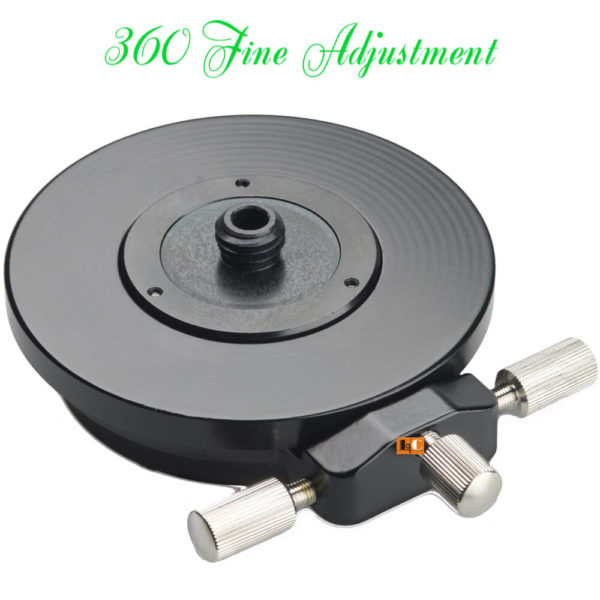 Đế Chỉnh Xoay Máy Laser 360 Adjustment | Le Quoc Equipment.