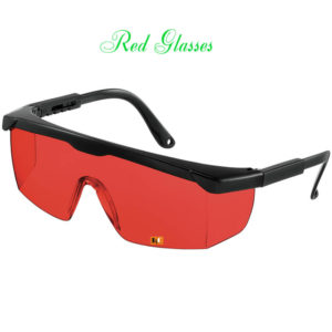 Kính Laser Đỏ Red Glasses | Le Quoc Equipment.