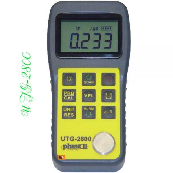 Máy đo độ dày vật liệu UTG-2800 | Le Quoc Equipment.