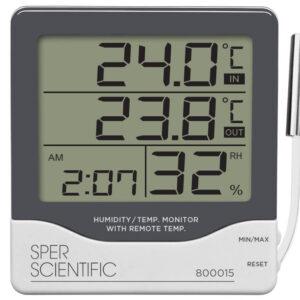 Đồng hồ đo nhiệt độ độ ẩm 800015 Sper Scientific