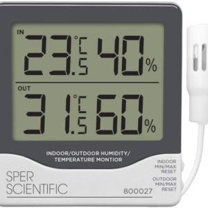 Nhiệt ẩm kế điện tử 800027 Sper Scientific USA