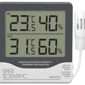 Nhiệt ẩm kế điện tử 800027 Sper Scientific