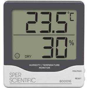 Nhiệt kế đo nhiệt độ phòng 800016 | Máy đo nhiệt độ phòng | Sper