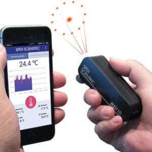 Máy đo nhiệt độ bluetooth điện thoại 800110