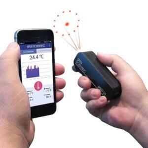 Máy đo nhiệt độ bằng điện thoại 800110 Sper Scientific