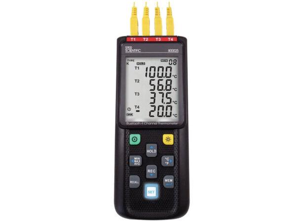 Máy đo nhiệt độ Bluetooth Datalog 4 kênh 800025 Sper Scientific