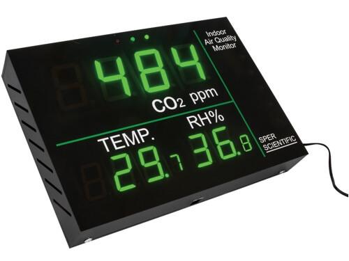 Đồng hồ đo CO2, nhiệt độ và độ ẩm không khí 800051 Sper
