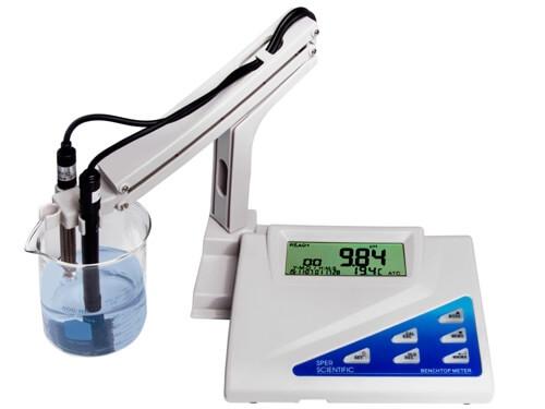 Máy đo độ mặn, TDS, Nhiệt độ nước 860032 Sper