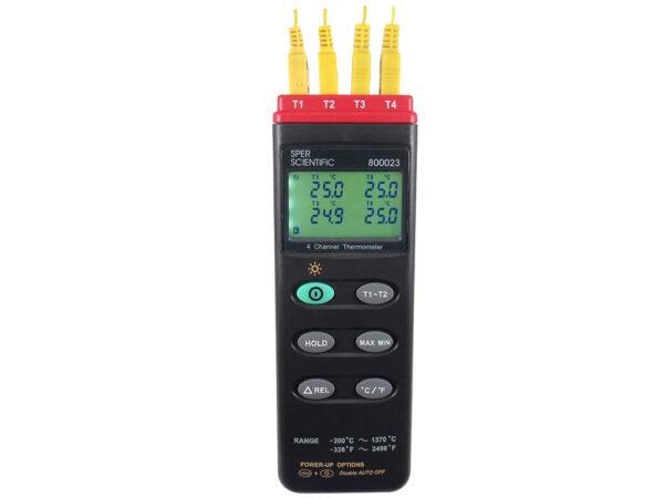 Máy đo nhiệt độ 4 kênh 800023 Sper Scientific