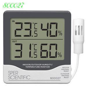 Máy Đo Độ Ẩm Không Khí | Đồng hồ đo nhiệt độ độ ẩm
