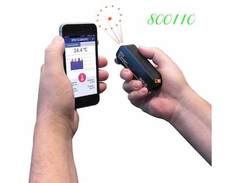 Đo nhiệt độ bằng điện thoại | Cảm biến nhiệt độ hồng ngoại