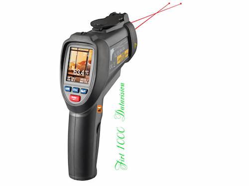 Máy đo nhiệt độ hồng ngoại - laser