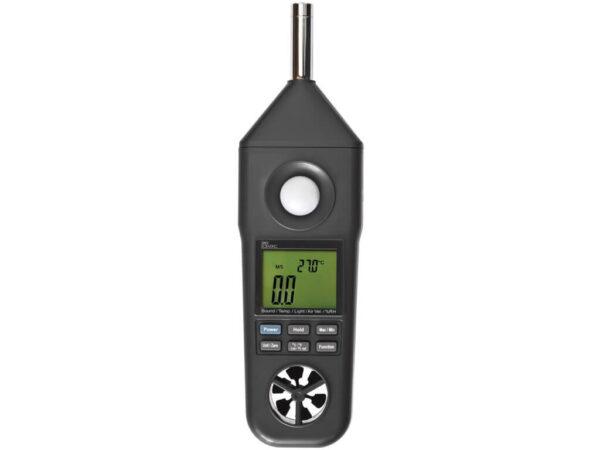Máy đo ánh sáng, độ ồn, gió, nhiệt độ, độ ẩm 850069 Sper Scientific