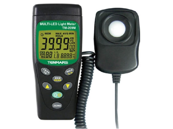 Máy đo ánh sáng TM-209M | Tenmars